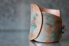 Tribal Patina Copper Cuff Bracelet https://www.etsy.com/ca/listing/246693262/tribal-fusion-gypsy-cuff-neo-tribal #tribal #gypsy #cuff #bracelet