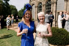 Wedding Guests - Millar Cole Photography | Stylish Wedding at Aynhoe Park