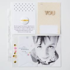 Sugar coated digital journaling cards