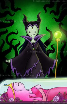 Adventure Time Maleficent Mashup