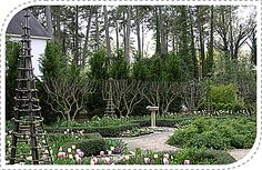 I love the structure and layout of this gorgeous French-style garden. Lush yet refined. Design by AHBL in Washington.