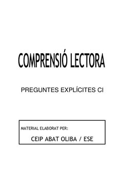 Preguntes explicites by silvia via slideshare