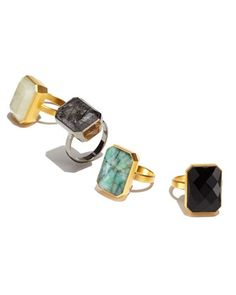 Assorted Smart Rings by Ringly at Neiman Marcus.