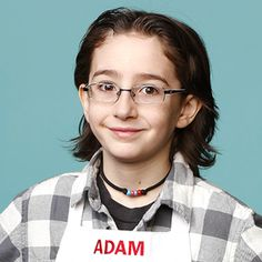 Adam | MasterChef Junior on FOX Masterchef Junior, Master Chef, Season 8, Chefs, Singers, Jr, Singer