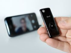 Okay, the Muku Shuttr Remote Control for Camera Shutter is not the first smartphone camera shutter remote control but it is the slimmest one that I have ever seen. Why is this important? The remote is only useful if you have it with you. Smartphone cameras are the primary camera for most people because people have it with them at most times. The Muku Shuttr Remote Control is tiny and light enough to be added to your keychain without adding significant bulk.