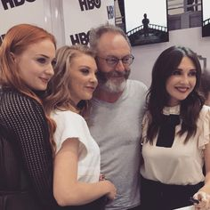 Game of Thrones panel at Comin Con 2015 Davos, Liam Cunningham, Game Of Thrones Cast, Game Of Trones, Sansa Stark, Book Tv, Sophie Turner, Warner Bros, See Photo