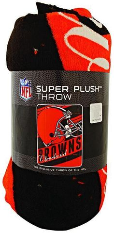 23fa58f28a5 BCCL1 Blanket - Rolled Micro Raschel - Cleveland Browns