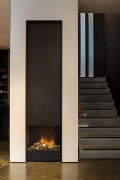 Showroom bosmans haarden fire places chimeneas - Chimeneas minimalistas ...