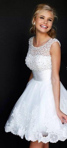 Beautiful dress! Love it for a rehearsal dinner or for leaving the reception etc...