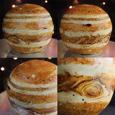 Pasteles en forma de planetas - Antidepresivo