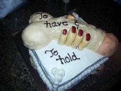 Penis Bachelorette Cake