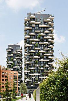 Bosco Verticale, Milan, designed by Boeri Studio (Image: Kirsten Bucher)