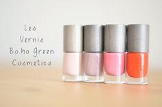 BLog Mode Lyon - PARIS GRENOBLE: #49 Jeudi Beauty: Les Vernis Bo.ho Green Cosmetics