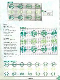 Revista: Coleção Arte Fácil Vagonite   Fazer Mais Fácil Swedish Embroidery, Types Of Embroidery, Ribbon Embroidery, Cross Stitch Embroidery, Huck Towels, Swedish Weaving Patterns, Bargello Needlepoint, Monks Cloth, Weaving Designs
