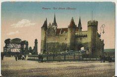 Anvers Belgium  Het Steen  Musee   circa 1910 by StarPower99, $3.00