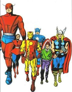 The Avengers(1964)by Jack Kirby