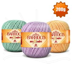 Barbante Barroco MaxColor Candy Colors nº 06 200g - Bazar Horizonte