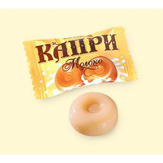 Capri milk candy, Roshen, Ukraine.