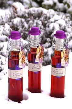 Winter and our Lavender Maple Syrup a perfect combo for some warm winter treats.
