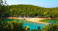 Μπέλλα Βράκα: Αυτή η παραλία της Ηπείρου είναι το πιο εξωτικό κομμάτι της Ελλάδας: ΣΥΒΟΤΑ Έχουμε άπειρες επιλογές, όσες και οι παραλίες μας Greece, Beautiful Places, River, Outdoor, Fashion, Greece Country, Outdoors, Moda, Fashion Styles