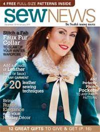 Sew News Issues | Sew News