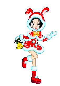 Candy Doll Animadas: Mamãe noel fofas