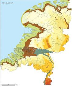 Post with 0 votes and 173 views. The Netherlands at 5500 BC European History, Ancient History, Holland Map, World Map Art, Fantasy Map, Vintage Maps, Antique Maps, Old Maps, City Maps