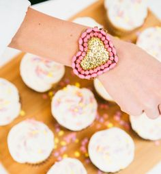 Love is sweet, and so is the @31bits Sweetheart bracelet!