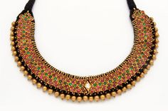 Indian Jewellery and Clothing: Beautiful hyderabad traditional jewellery..Tusshe/...