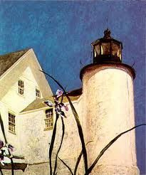 Jamie Wyeth, Andrew's son. I'm beginning to like his work almost as much as his father's.