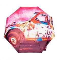Pochodzący z najnowszej serii Modern Art marki Doppler parasol zdecydowanie wyróżnia się