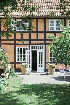 back entrance through the garden at pension vestergade 44, denmark. photo by camilla jorvad