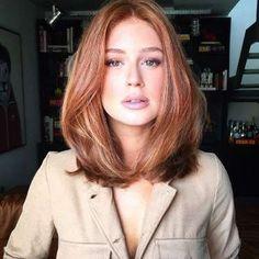 Marina Ruy Barbosa apareceu deslumbrante em um clique compartilhado pelo maquiador Alê de Souza, nes... - Reprodução, Instagram