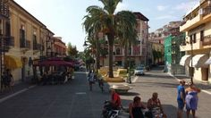 Scalea town - Calabria, Italy. This place, this street holds so many memories for me. Makes me happy •