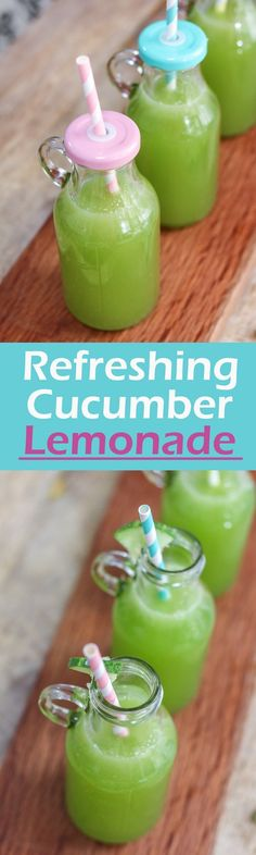 This refreshing cucumber lemonade is not just delicious, clean and a great perk-me-up drink, but also an easy path to add more vitamins in our diet as cucumbers are nutritious.