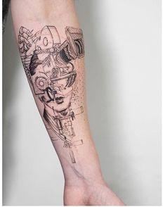 Tattoo by @mowgli_artist ___ www.EQUILΔTTERΔ.com ___ #Equilattera