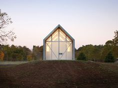 Huff Projects' prefab The Shed « Inhabitat – Green Design, Innovation, Architecture, Green Building Rainscreen Cladding, Wood Cladding, Building A New Home, Green Building, Architecture Site Plan, Small Buildings, Small Houses, Modular Walls, Roof Trusses