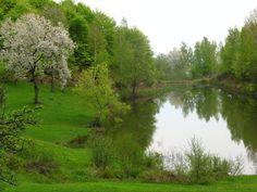"""Transcarpathian region, Ukraine.  Lake """"Sea Eye"""" in the village Lypovets.  http://www.karpaty.info/en/uk/zk/"""