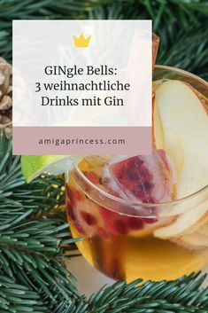 GINgle Bells: 3 Christmas drinks with gin, gin cocktails for Christmas, . - GINgle Bells: 3 Christmas drinks with gin, gin cocktails for Christmas, the best gin cocktails for - Popular Cocktail Recipes, Gin Cocktail Recipes, Cocktail Menu, Cocktail Glass, Signature Cocktail, Tonic Cocktails, Best Gin Cocktails, Beach Cocktails, Winter Cocktails