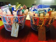 thank you baskets for the labor & delivery and postpartum nurses Labor Nurse Gift, Delivery Nurse Gifts, Thank You Baskets, Baby Number 3, Nurse Appreciation Gifts, Baby Shower Prizes, Pregnancy Labor, Hospital Bag, Nicu