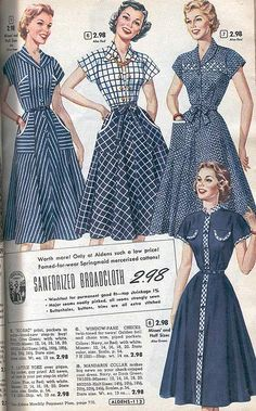 1950s Dresses & Skirts: Styles, Trends & Pictures                                                                                                                                                                                 More