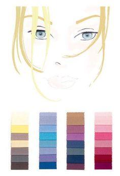 Farbtyp hell-kalt: die perfekten Farben