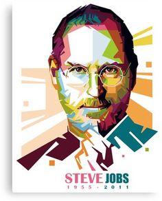 Steve Jobs vector portrait in wpap pop art style – RIP Steve Jobs. Steve Jobs Apple, Vector Portrait, Clipart, Art Images, Sell Your Art, Vector Art, Pop Art, Vibrant Colors, Photoshop