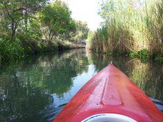 In Canoa! #canoa #nature #fiume #sicily