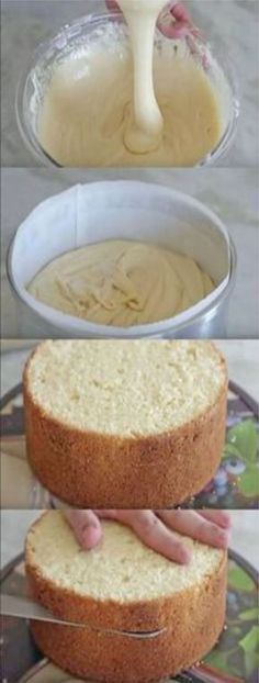 Easy Sponge Cake Recipe and troubleshooting tips Sweet Recipes, Cake Recipes, Snack Recipes, Dessert Recipes, Do It Yourself Decoration, Easy Smoothie Recipes, Thumbprint Cookies, Coconut Recipes, Pumpkin Spice Cupcakes