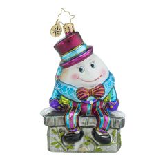Christopher Radko Ornaments | Radko Before the Big Fall Baby Christmas Ornament