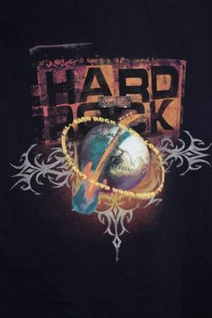 "Hard Rock Cafe ""Yokohama"" T shirt - Mens L Japan Asia HRC guitar Navy Blue Tee #HardRock #GraphicTee"