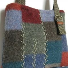 felted sweater bag