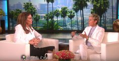 Caitlyn Jenner's interview on the Ellen DeGeneres show in which she shares her views on same-sex marriage. You might be surprised.... #samesexmarriage #celebs #LGBTcelebs #gay #trans #transgender #lesbian #marriageequality #caitlynjenner #ellen