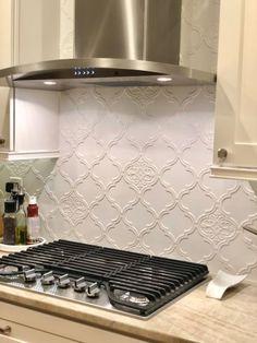 Gorgeous tile, star of my kitchen!